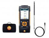 Testo 440 Прибор для измерения скорости воздуха и оценки качества воздуха в помещении в комплекте с зондом, обогреваемой струной (0635 1032) и кейсом