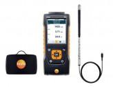 Testo 440 Прибор для измерения скорости воздуха и оценки качества воздуха в помещении в комплекте с крыльчаткой 16 мм (0635 9532) и кейсом