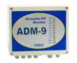 ADM-9 - система для контроля изоляции высоковольтного оборудования по частичным разрядам при помощи акустических датчиков